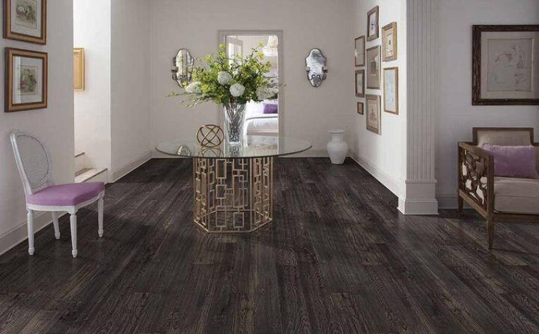 High Traffic Luxury Vinyl Flooring Dining Room